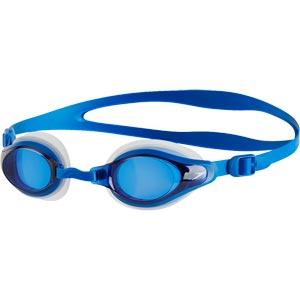 Speedo Mariner Supreme Optical Prescription Swimming Goggles Clear/Neon Blue