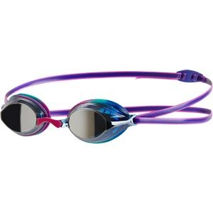 Speedo Junior Vengeance Mirror Swimming Goggle Diva/Voilet/Silver
