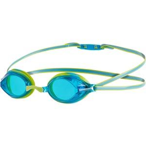 Speedo Junior Vengeance Swimming Goggles Lime/Blue