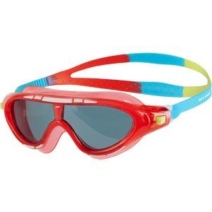 Speedo Junior Rift Swimming Mask Red/Blue/Smoke