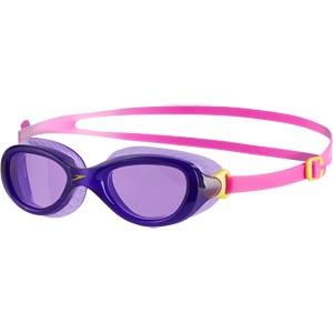 Speedo Junior Futura Classic Swimming Goggles Ecstatic Pink/Violet