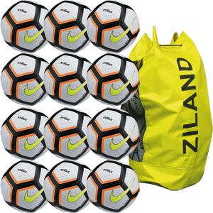 Nike Strike Team Match Football 12 Pack Total Orange