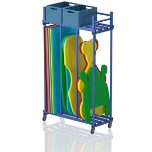 Vendiplas Poolside Storage Trolley