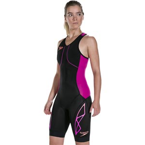 Speedo Fastksin Xenon Tri Suit Black/Bright Fuchsia