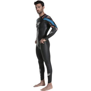 Speedo Fastskin Proton Wetsuit Black/Amparo Blue/Siren Red