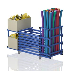 Vendiplas Equipment Trolley Extended