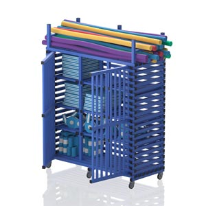 Vendiplas Mobile Cabinet Large Extended