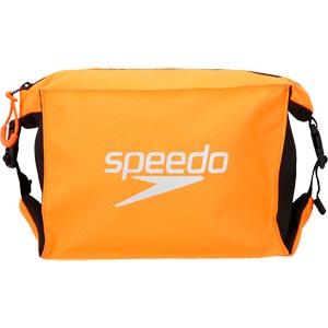 Speedo Poolside Bag Black/Fluo Orange
