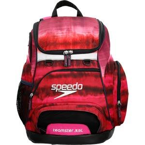 Speedo Teamster Backpack 35 Litre Tie Dye Pink