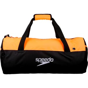 Speedo Duffel Bag Black/Fluo Orange