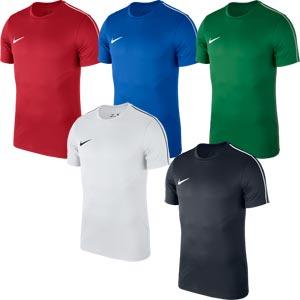 Nike Park 18 Senior Short Sleeve Training Top