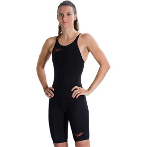 Speedo LZR Racer Element Openback Kneeskin Black/Copper