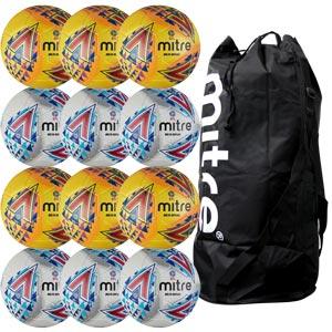Mitre Delta Legend Hyperseam Replica EFL Match Football 12 Pack Assorted