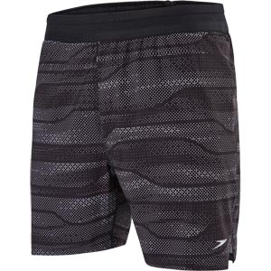 Speedo Lane Printed 16 Inch Watershort Black/White