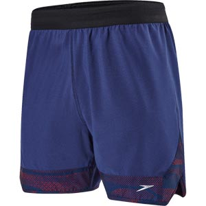Speedo Lane Trim 16 Inch Short Navy/White