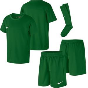 Nike Park Little Kids Football Kit Set Pine Green