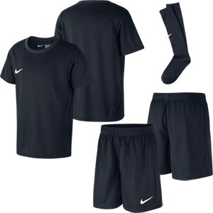 Nike Park Little Kids Football Kit Set Black