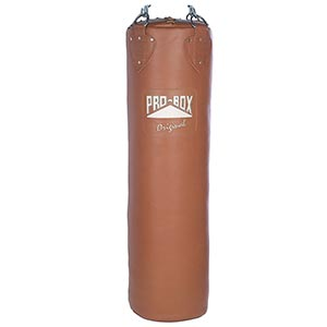 Pro Box Leather Heavy Punch Bag 4ft Original Collection
