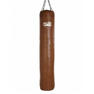 Pro Box Leather Heavy Punch Bag 6ft Original Collection