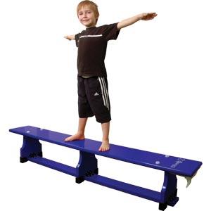 Sure Shot Coloured Balance Bench Blue