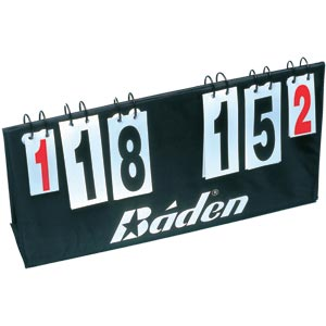 Baden Flip Over Basketball Scoring Unit