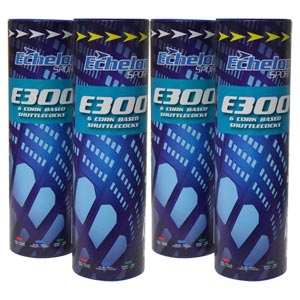 Echelon E300 Badminton Shuttlecocks 12 Pack