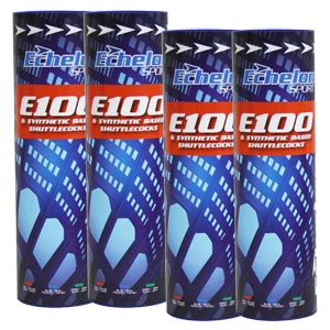 Echelon E100 Badminton Shuttlecocks 12 Pack