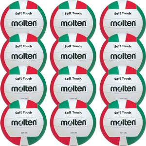 Molten V5T Soft Touch Volleyball 12 Pack