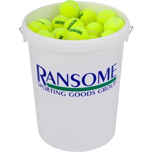 Ransome Tennis Balls Bucket of 96