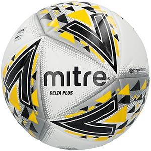 Mitre Delta Plus Pro Match Football White
