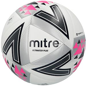 Mitre Ultimatch Plus Match Football White