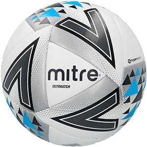 Mitre Ultimatch Match Football White
