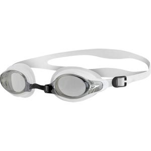 Speedo Mariner Supreme Swimming Goggles Clear/White/Smoke