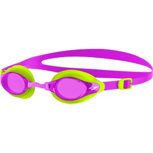 Speedo Mariner Supreme Junior Swimming Goggles Lima/Diva