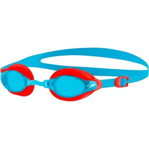 Speedo Mariner Supreme Junior Swimming Goggles Watermelon/Turquoise