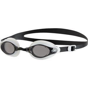 Speedo Mariner Supreme Junior Swimming Goggles White/Smoke