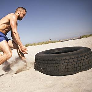 Apollo Training Tyre 26kg