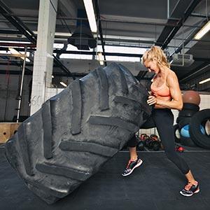 Apollo Training Tyre 113kg