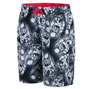 Speedo Star Wars Trooper Allover Watershort Black/White