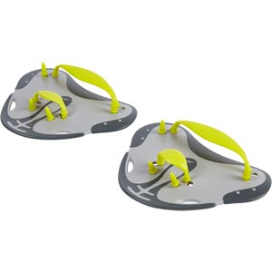 Speedo Finger Paddles Oxid Grey/Lime Punch