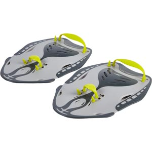 Speedo Power Paddles Oxid Grey/Lime Punch