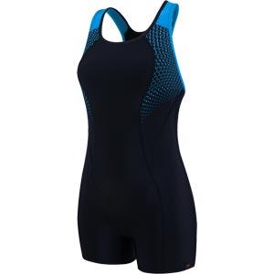 Speedo Pro Legsuit Black/Windsor Blue