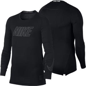 Nike Pro Compression Crew Junior Long Sleeve Top