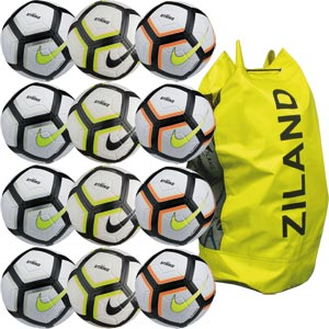 Nike Strike Team Match Football 12 Pack Assorted