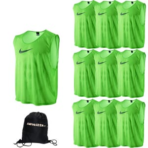 Nike Sports Training Bib Action Green 10 Pack