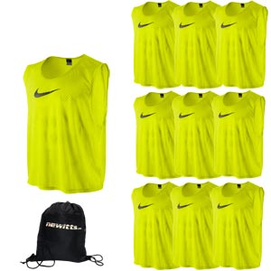 Nike Sports Training Bib Volt Yellow 10 Pack