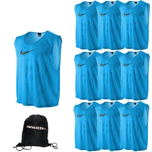 Nike Sports Training Bib Photo Blue 10 Pack