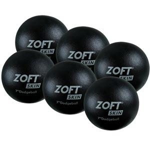 Zoft Dodgeball 7 Inch 6 Pack