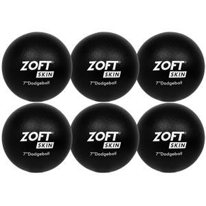 Zoftskin Dodgeball 7 Inch 6 Pack