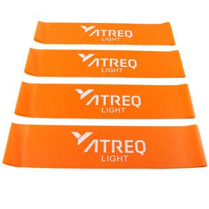 ATREQ Light Mini Loop Band 4-7kg 4 Pack
